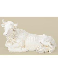 Ox Figure, White