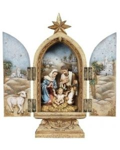 Holy Family Triptych Figure