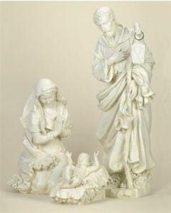 "Holy Family Set, White 39"""