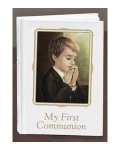 First Communion Boy Prayer Book