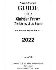 Christian Prayer Guide For 2022 (Large Type)