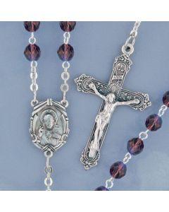 Amethyst Crystal Rosary
