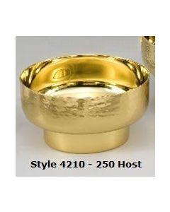 Round Hammered Host Bowl