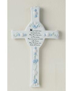 Porcelain Baptism Cross