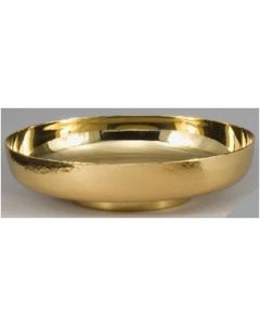 Round Hammered Bowl Paten