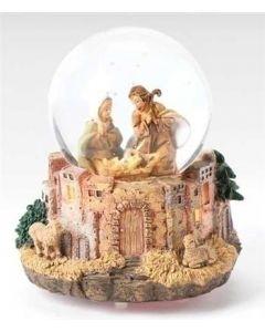 Bethlehem Scene Glitterdome