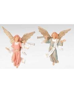 """Trumpeting Angels, 5"""" Fontanini"""