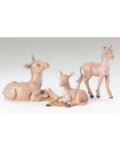"""Donkey Family for 5"""" Fontanini"""