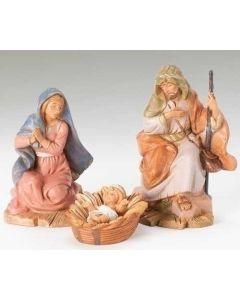 """Centennial Holy Family, 5"""" Fontanini"""