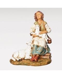 "Nahome, Shepherdess Fontanini 7.5"""
