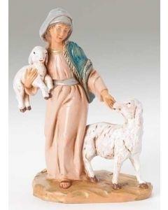 "Rhoda, Shepherdess, 5"" Fontanini"