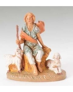"Peter, Boy with Sheep, 5"" Fontanini"