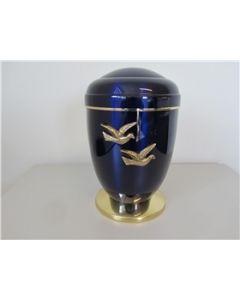 Copper/Blue Urn