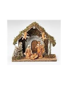 Wedding Creche 5pc Set with Stable