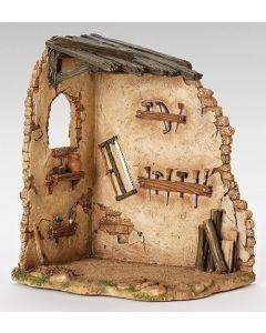 """Carpenter's Shop Fontanini for 7.5"""" scale"""