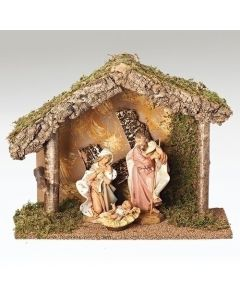 "Nativity Starter Set 7.5"" 3pc."