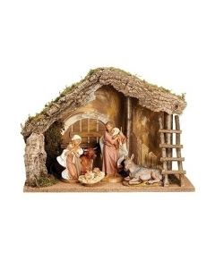 5-pc Fontanini Nativity Set