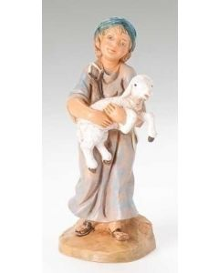 "Silas, Boy Shepherd, 5"" Fontanini"