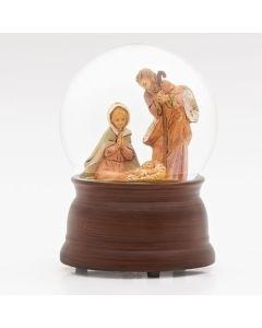110th Anniversary Holy Family Fontanini Glitterdome