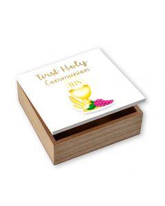 Communion Wood Box