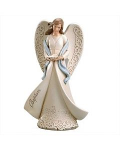 Baptism Angel holding Shell