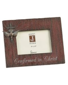 Confirmation Frame Distressed 6.5""