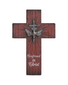 Confirmation Cross Distressed