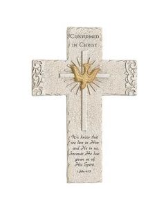 Confirmation Cross With Dove