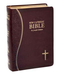 St. Joseph Burgundy New Catholic Bible (Personal Size)