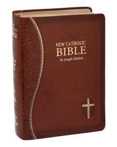 St. Joseph Brown New Catholic Bible (Personal Size)