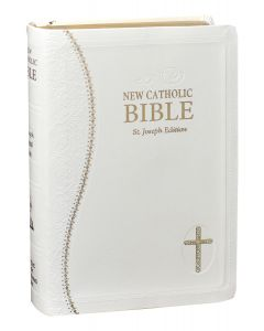St. Joseph White New Catholic Bible (Personal Size)