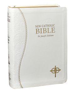 St. Joseph White Marriage New Catholic Bible (Personal Size)