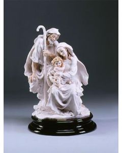 Holy Family, alabaster, 1pc figurine