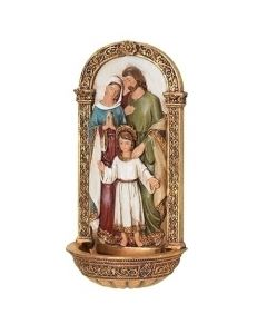Holy Family Color Holy Water Font