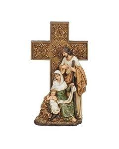 "Holy Family Cross 10"""