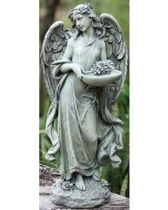 Angel with Bird Feeder