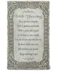 "8"" Irish Blessing Wall Plaque"