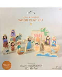 Jesus and Friends wood playset