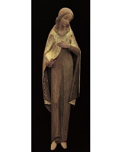 Blessed Virgin 3/4 Relief