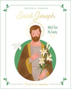 Saint Joseph Watch Over My Family