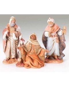 "Three Kings, 5"" Fontanini"