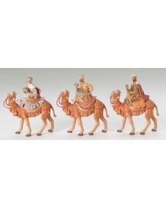 "Three Kings on Camels, 5"" Fontanini"