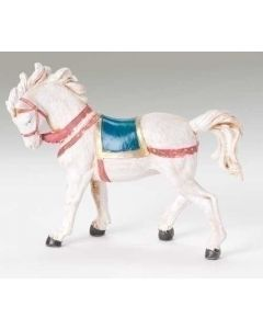 "Horse with Saddle Blanket for 5"" Fontanini"