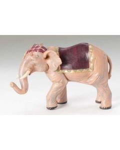 """Elephant with Saddle Blanket for 5"""" Fontanini"""