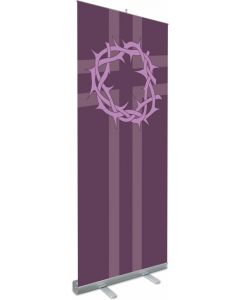 Crown of Thorns Roll-up Banner