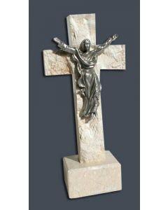 Large Pewter Risen Christ