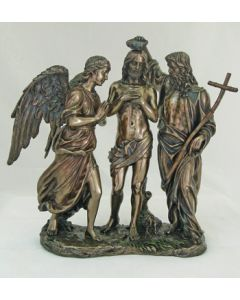 Baptism of Christ Statue