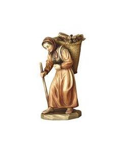 Anri Kuolt Shepherdess with Wood
