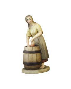 Anri Kuolt Washerwoman at Barrel