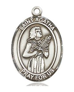 St. Agatha medal SS